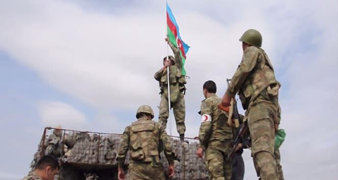 Milli kahraman Mubariz İbrahimov'un imha ettiği karakola Azerbaycan bayrağı dikildi