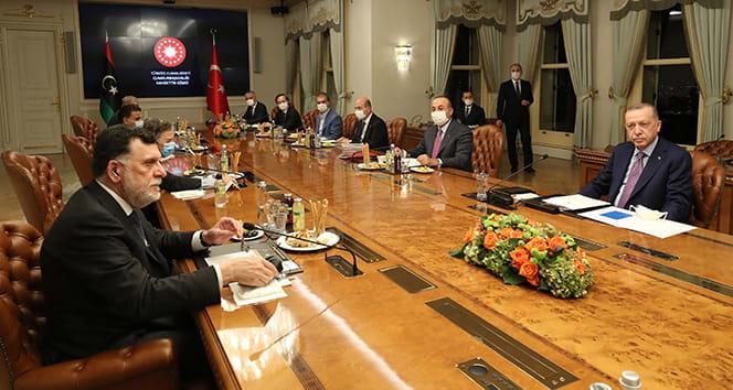 Cumhurbaşkanı Erdoğan: 'Libyalıların refahı için her türlü desteği sürdürmeye hazırız'