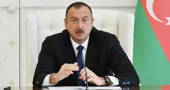 Azerbaycan Cumhurbaşkanı İlham Aliyev: 'İşgal altında olan bölgeler bize verilirse barış sağlanır'