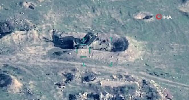 Ermenistan'a ait uçaksavar füze sistemi imha edildi