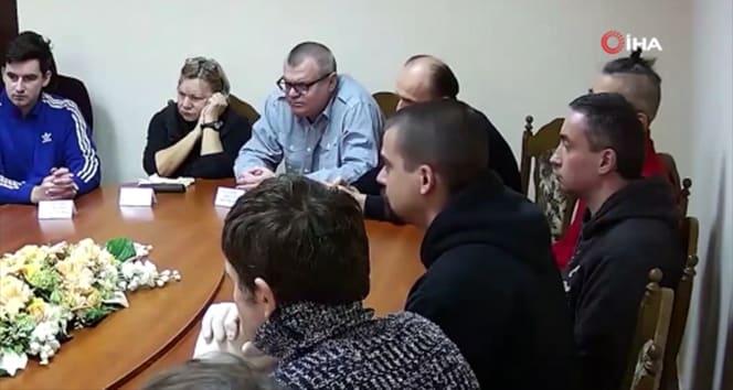 Belarus Devlet Başkanı Lukaşenko tutuklu muhalefet liderleriyle görüştü