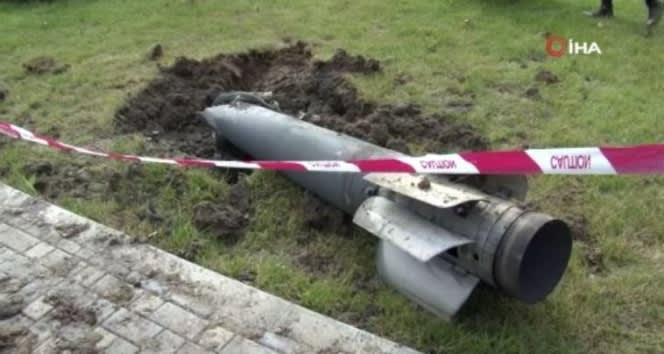 Ermenistan'ın attığı roket Mingeçevir'de termik santrale düştü