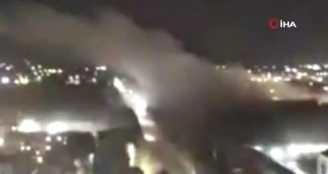 Ermenistan'ın Gence'ye düzenlediği füze saldırısının görüntüleri ortaya çıktı