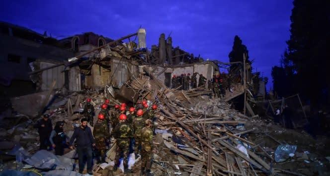 Ermenistan, Gence şehrine füzeyle saldırdı: 9 ölü, 34 yaralı