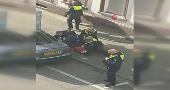 Almanya'da polis şiddeti!