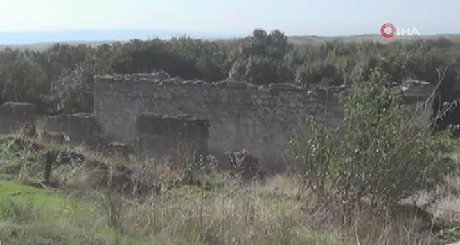Ermenistan işgalinden kurtarılan Horadiz köyünden yeni görüntüler