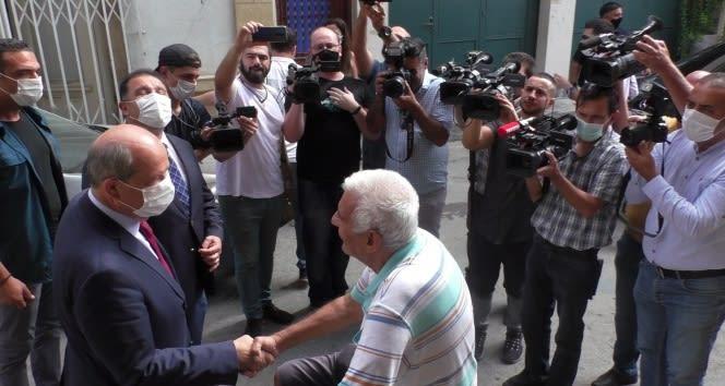 Ersin Tatar Cumhurbaşkanlığı seçimlerinin ikinci turu için destek arayışlarına başladı