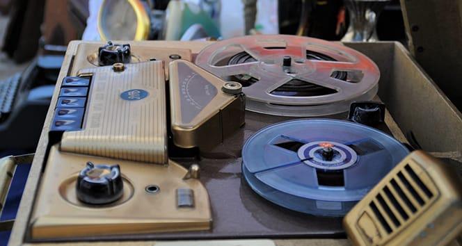 İkinci Dünya Savaşı'nda kullanılan ses kayıt cihazı tarihe tanıklık ediyor