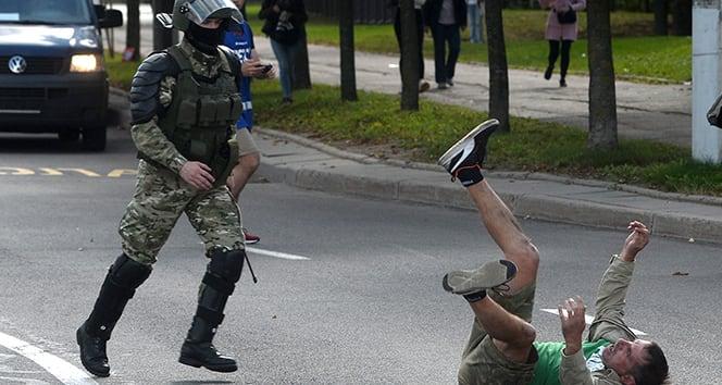 Belarus'taki protesto gösterilerinde bugüne kadar bin 376 kişi yaralandı