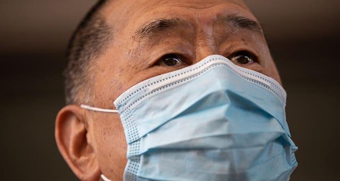 Hong Kong'ta medya patronu Jimmy Lai'nin ofisine baskın