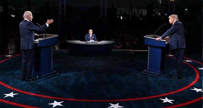Trump ve Biden canlı yayında seçmenlerin sorularını yanıtlayacak