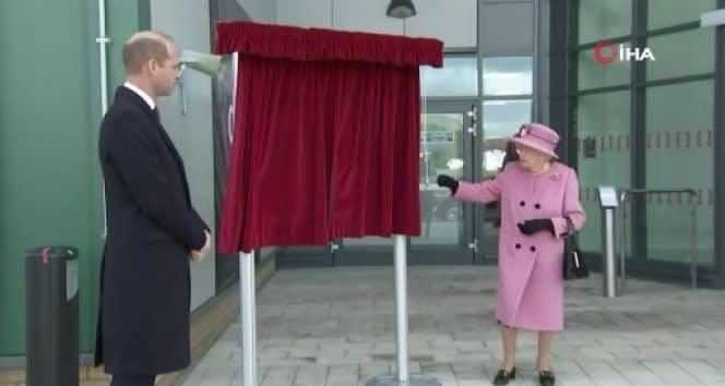 Kraliçe II. Elizabeth, 7 ay sonrasında ilk resmi ziyareti için dışarı çıktı