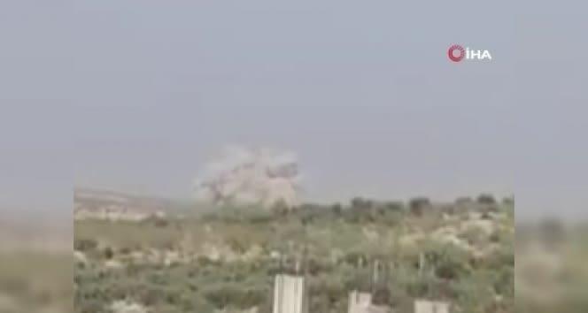 Rus harp uçaklarından İdlib'e hava saldırısı
