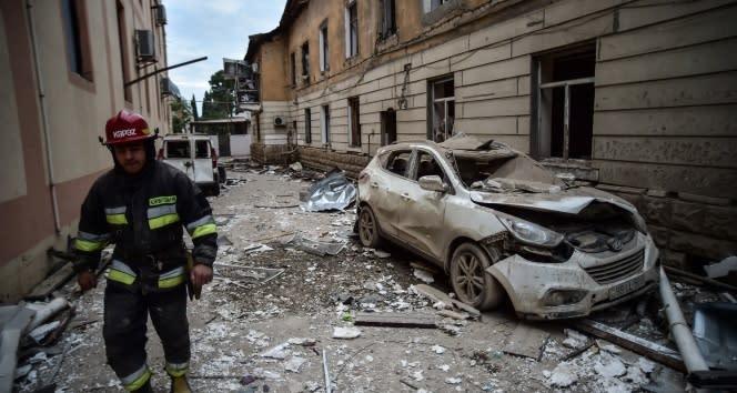 Ermenistan'ın saldırılarında yaşamını kaybeden sivillerin sayısı 63'e ulaştı
