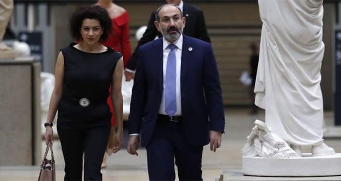 Ermenistan Başbakanının eşi cepheye gidecek