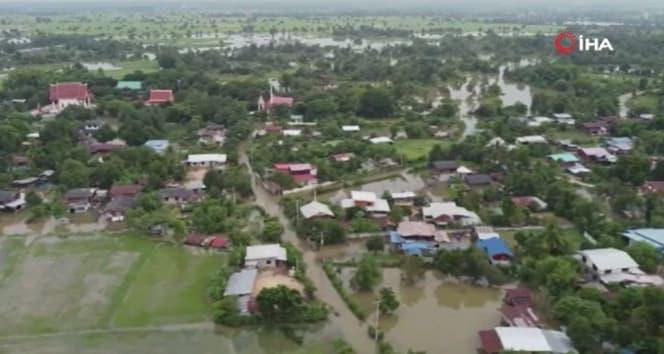 Tayland'da Molave tayfunu öncesi sel felaketi