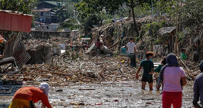Filipinler'i vuran Vamco Tayfunu'nda ölü sayısı 42'ye terfi etti