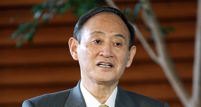 Japonya Başbakanı Suga, Biden ve Yardımcısı Harris'i kutlama etti