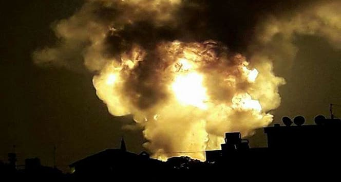 İspanya'nın başkenti Madrid'de patlama meydana geldi