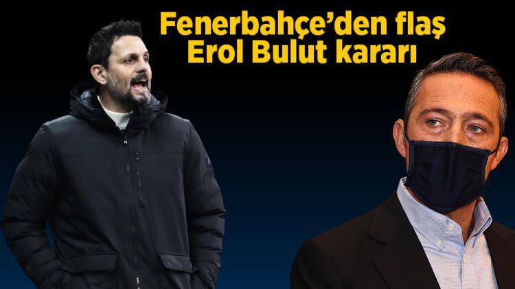Son dakika Fenerbahçe haberleri: Beşiktaş derbisi sonrası Fenerbahçe'den son dakika Erol Bulut sonucu!