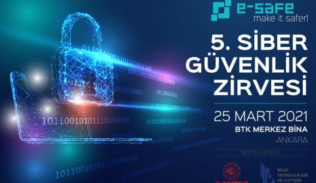 5. e-Safe Siber Güvenlik Zirvesi Türksat sponsorluğunda gerçekleşecek
