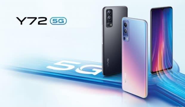 Vivo Y72 5G yüksek performans ve uygun fiyatla satışa çıktı