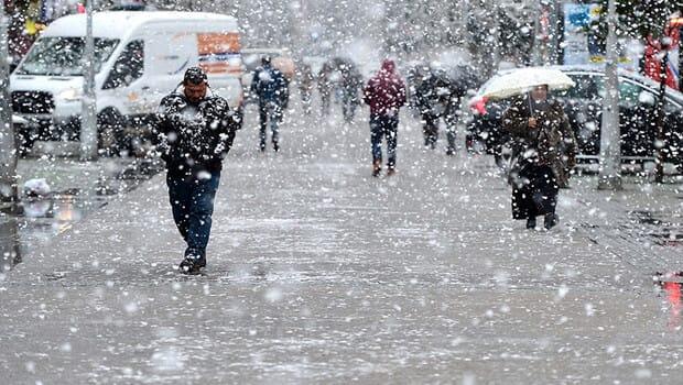 Marmara Bölgesi'nin doğusunda kar yağışı planlanıyor