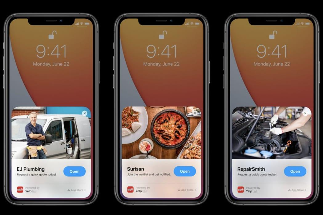 destek-apple-ios-14-uygulama-klipleri