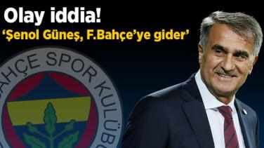 Son dakika haberleri: Vaka iddia: Şenol Güneş, Fenerbahçe'ye gider!