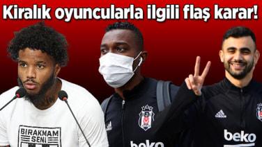 Son dakika – Beşiktaş'ta kiralık oyuncularla ilgili karar verildi! Ghezzal, Rosier, Mensah…