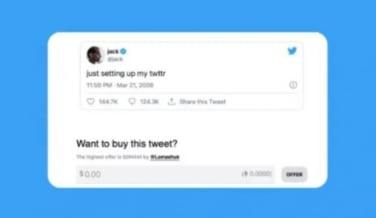 Tarihte atılan ilk tweeti bir Türk satın aldı