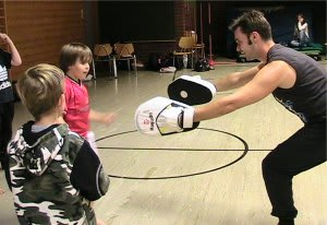 kids padwork