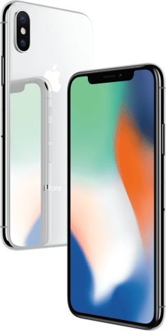 Apple IPhone X From XFINITY Mobile In Silver
