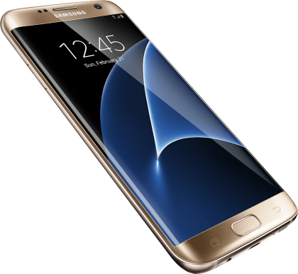 samsung galaxy s 7 edge from xfinity mobile in gold platinum. Black Bedroom Furniture Sets. Home Design Ideas