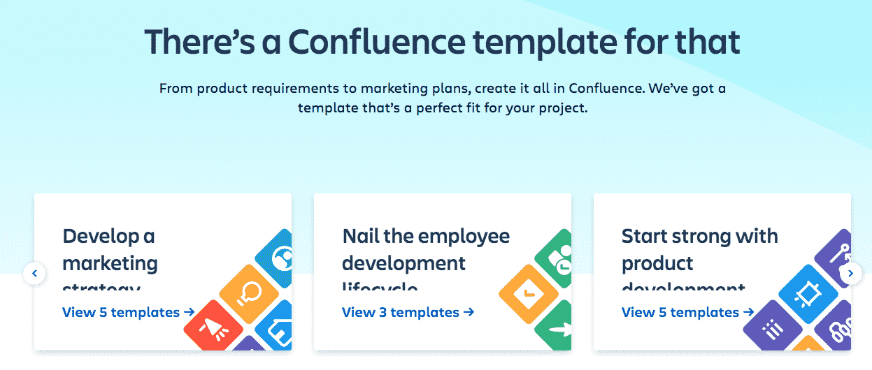 Confluence template