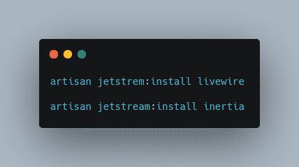 Laravel Jetstream