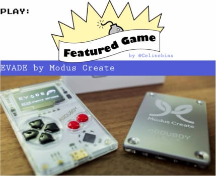 EVADE featured in Arduboy Magazine Volume 1