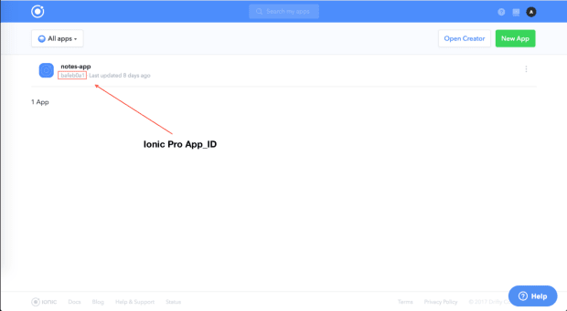 Building Better Ionic Apps With Ionic Pro, Part 3 -- APP_ID