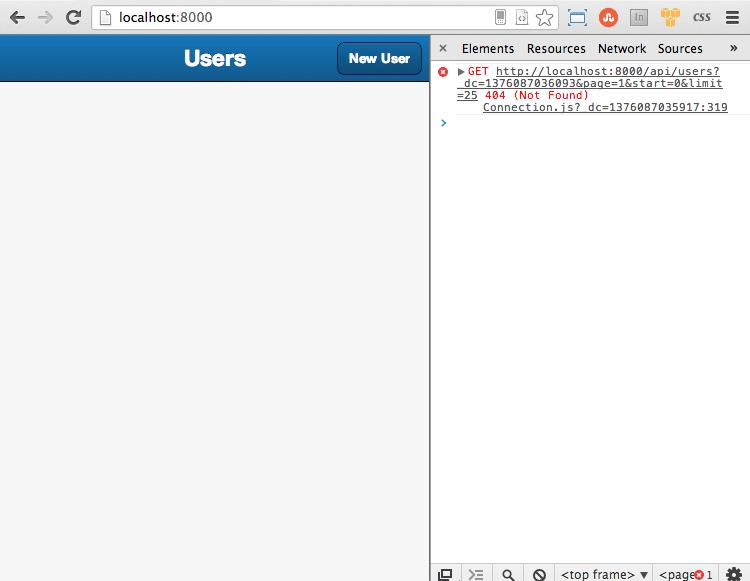 The User's List