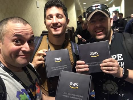 Intro to Amazon DeepLens -- Team Modus at AWS re:Invent