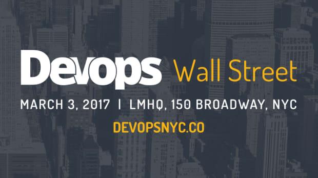 DevOps Wall Street Announcement