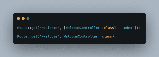 Controllers Routing Namespacing