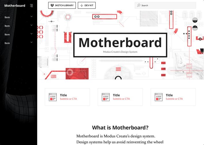 Modus Create - Motherboard