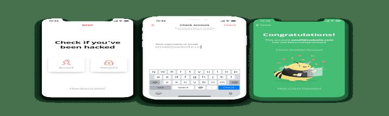 Beep App Design