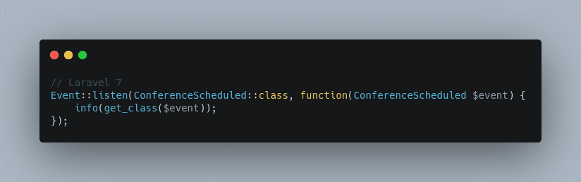 Better Syntax for Events