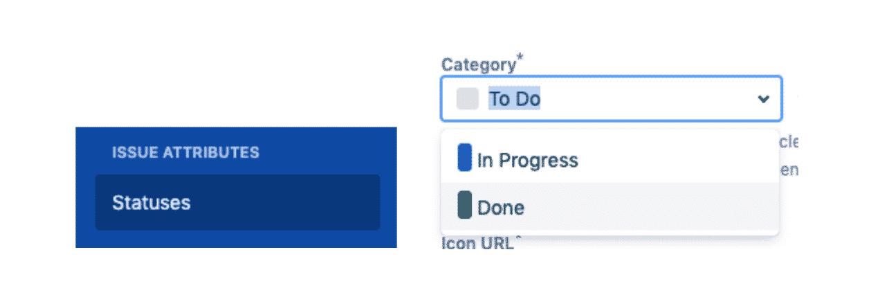 Adding a status