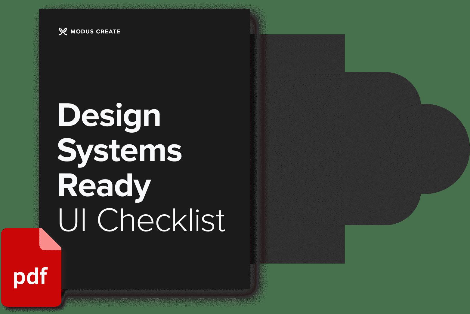 Modus-Design-System-Checklist