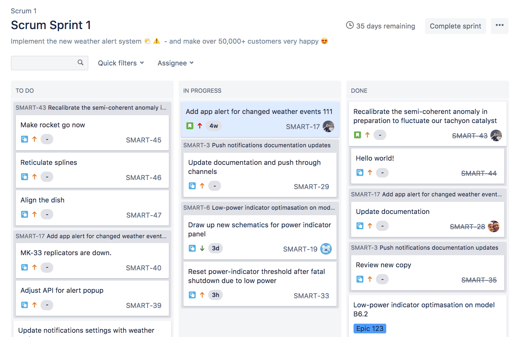 Jira is the most popular tool used by remote teams for Scrum.