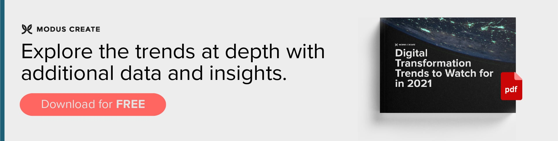 Explore the trends at depth in our digital transformation trends e-Book