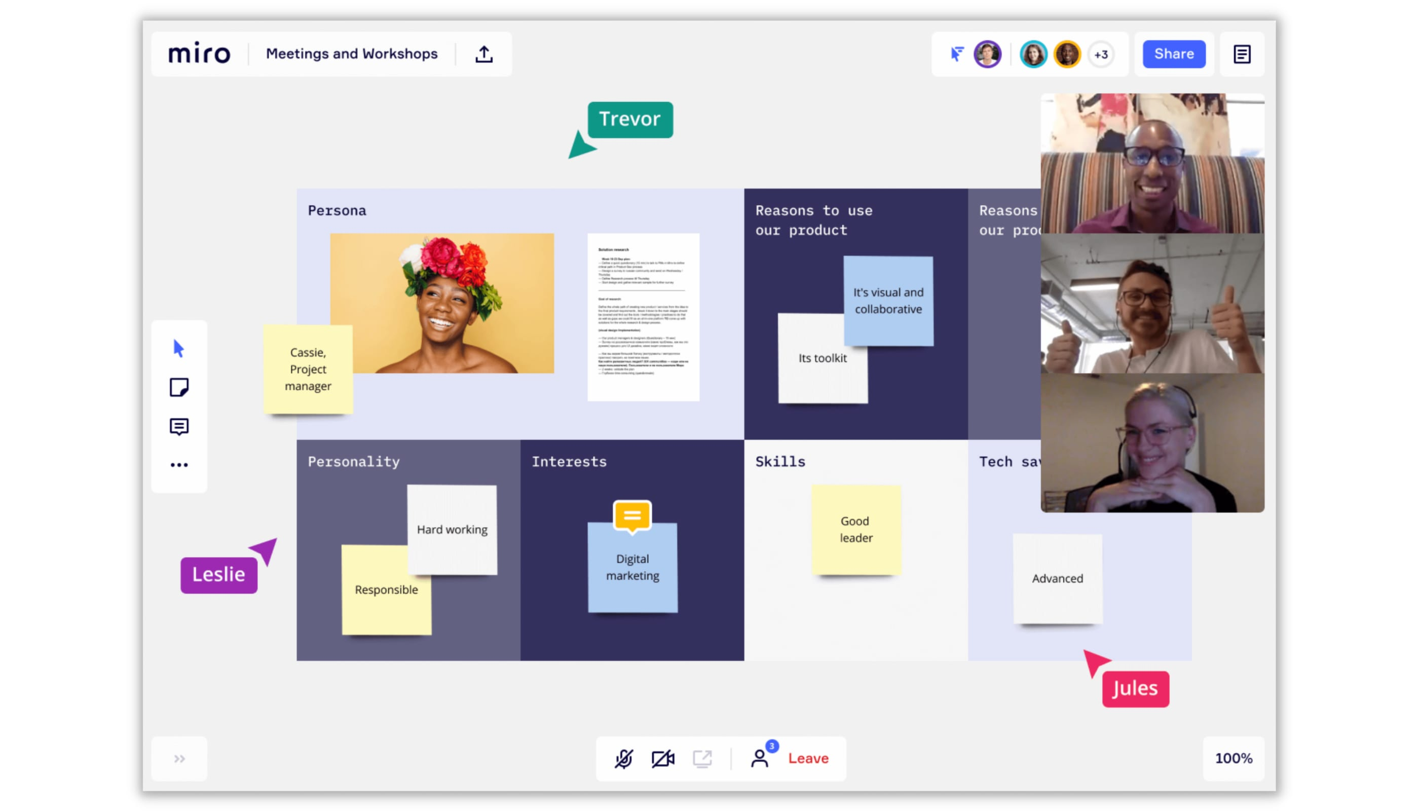 Miro project management software
